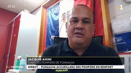Invité du journal : Jacky Ahini, chef des pompiers de punaauia