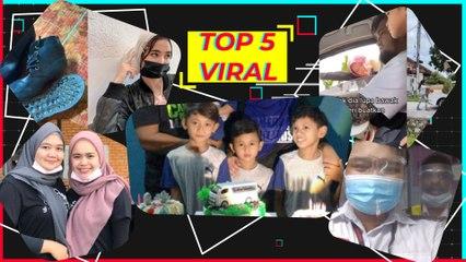 Top5 Viral: Wanita 'terbang' minta suami bawa balik Tupperware... kanak-kanak dapat kek van jenazah