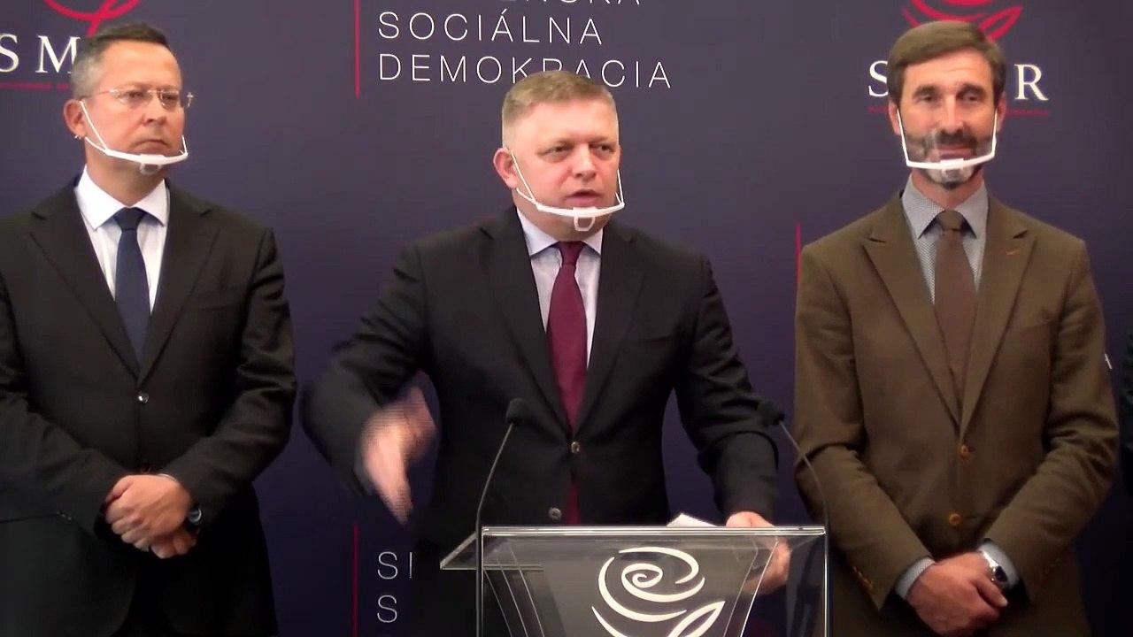 ZÁZNAM: TK strany SMER-SD k odvolaniu R. Mikulca