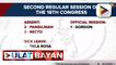 10 senador, absent sa 1st regular session ng 18th congress; Sen. Pacquiao, nanguna sa may pinakamaraming absences sa 3rd regular session ng 18th congress