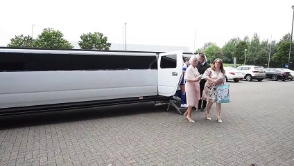 Bridesmaids dressed to impress for Latics fan's wedding