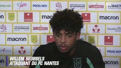 Nantes : Après sa comparaison avec Mbappé, Geubbels veut tourner la page