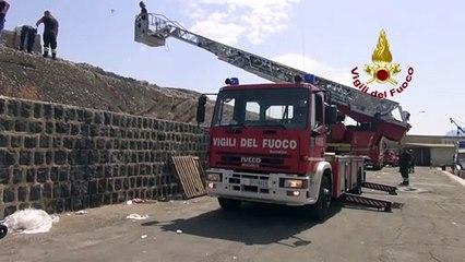 Palermo: soccorso uomo caduto tra i frangiflutti