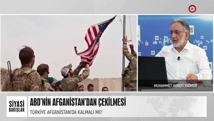 ABD'nin Afganistan'dan Çekilmesi   Yüzde 7 Seçim Barajı   Aşı Genelgesi