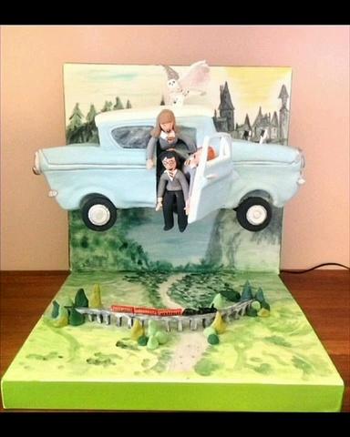 Amazing HARRY POTTER Cake Design Ideas _ Beautiful Cake Decorating Ideas