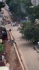 """Guinée : Des """"tirs nourris"""" entendus à Kaloum (Conakry )"""