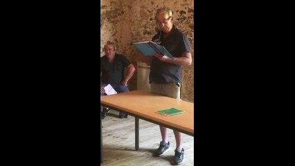 Discours des 30 ans de la Pétanque Tarusate