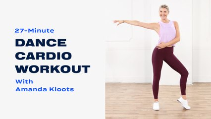 Prepare to Smile As You Sweat With This Dance Cardio Workout From Amanda Kloots