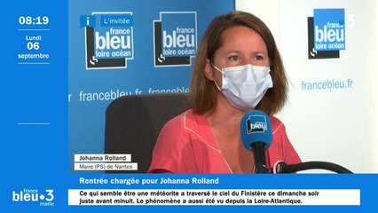 """Présidentielle 2022 : """"Ma boussole en permanence, c'est Nantes"""", assure Johanna Rolland"""