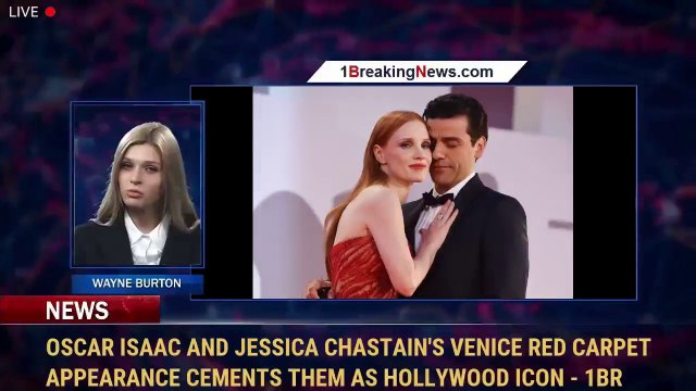 Oscar Isaac and Jessica Chastain's Venice Red Carpet Appearance Cements Them as Hollywood Icon - 1br