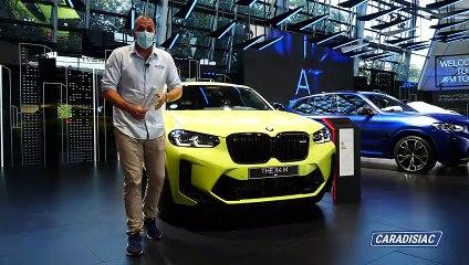 BMW X4 - En direct du salon de Munich 2021
