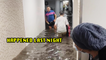 'Queens, NYC: Hurricane Ida Remnants Drench Building with Floodwater'