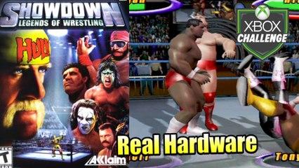 Showdown Legends of Wrestling — Xbox OG Gameplay HD — Real Hardware {Component}