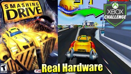 Smashing Drive — Xbox OG Gameplay HD — Real Hardware {Component}
