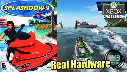 Splashdown — Xbox OG Gameplay HD — Real Hardware {Component}
