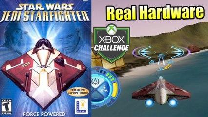 Star Wars Jedi Starfighter — Xbox OG Gameplay HD — Real Hardware {Component}