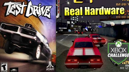 Test Drive — Xbox OG Gameplay HD — Real Hardware {Component}