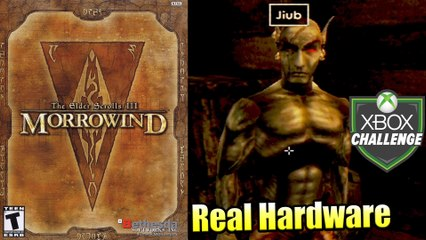 The Elder Scrolls III Morrowind — Xbox OG Gameplay HD — Real Hardware {Component}