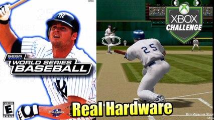 World Series Baseball 2K2 — Xbox OG Gameplay HD — Real Hardware {Component}