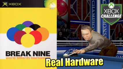 Break Nine World Billiards Tournament — Xbox OG Gameplay HD — Real Hardware {Component}