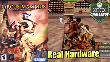 Circus Maximus Chariot Wars — Xbox OG Gameplay HD — Real Hardware {Component}