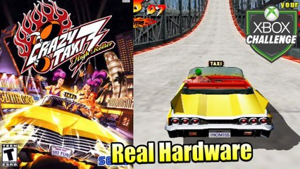 Crazy Taxi 3 High Roller — Xbox OG Gameplay HD — Real Hardware {Component}