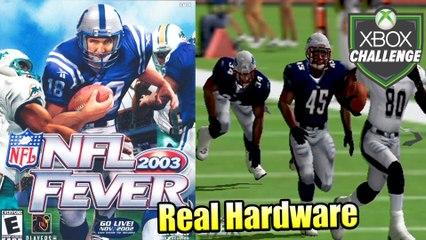 NFL Fever 2003 — Xbox OG Gameplay HD — Real Hardware {Component}