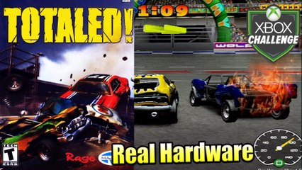 Totaled! — Xbox OG Gameplay HD — Real Hardware {Component}