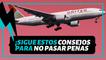 Consejos que debes tener en cuenta antes de viajar por primera vez en avión