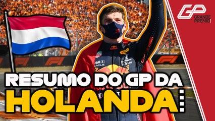 COMO FOI O GP DA HOLANDA DA F1 2021 | Resumo, melhores momentos e resultado da Fórmula 1