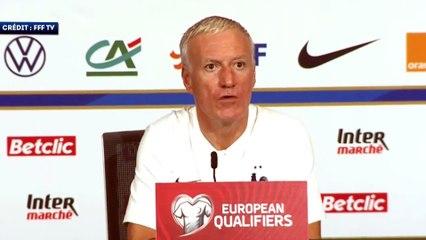 Didier Deschamps assure que l'Équipe de France ne va rien lâcher