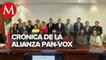 VOX, partido político español que se alió con el PAN, busca registrar su marca en México
