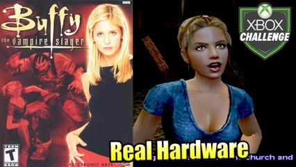 Buffy the Vampire Slayer — Xbox OG Gameplay HD — Real Hardware {Component}