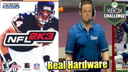 NFL 2K3 — Xbox OG Gameplay HD — Real Hardware {Component}