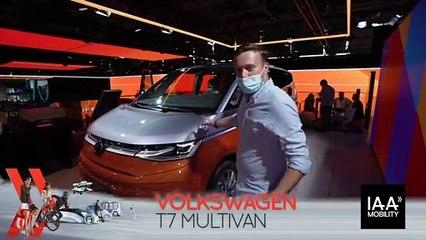 Volkswagen Multivan T7 (2021) : découvrez-le en direct du salon de Munich !