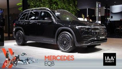 Mercedes EQB (2021) : découvrez-le en direct du salon de Munich !