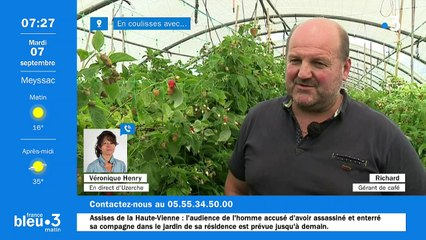 07/09/2021 - Le 6/9 de France Bleu Limousin en vidéo