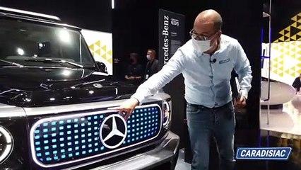Mercedes EQG - Vidéo en direct du salon de Munich