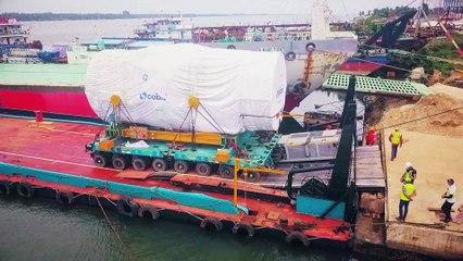 Abidjan Lagoon's Project Operations (Barging & SPMT)