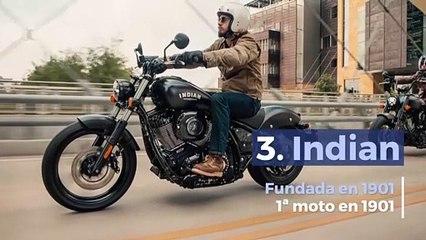 Las 10 marcas de motos más veteranas en activo