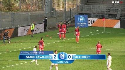 (J05) Laval 2 - 1 Cholet, le résumé vidéo