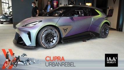 Cupra UrbanRebel (2021) : découvrez-le en direct du salon de Munich !