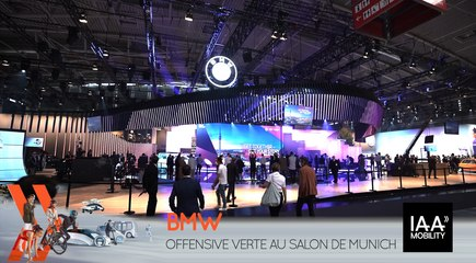 "BMW : Offensive ""verte"" au salon de Munich"