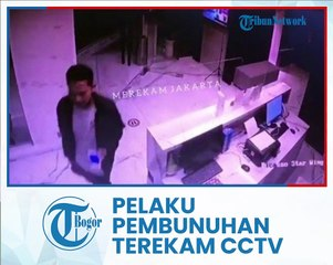 Detik-detik Pembunuh Wanita Tanpa Busana di Hotel Terekam CCTV di Cilandak, Begini Tampang Pelaku