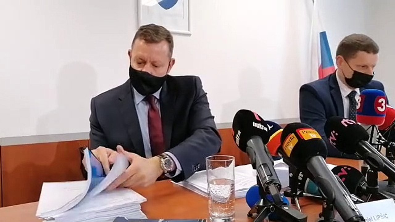 ZÁZNAM: Brífing špeciálneho prokurátora D. Lipšica