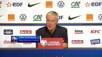 Didier Deschamps évoque le duo Benzema-Griezmann