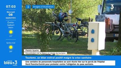 08/09/2021 - Le 6/9 de France Bleu Belfort Montbéliard en vidéo