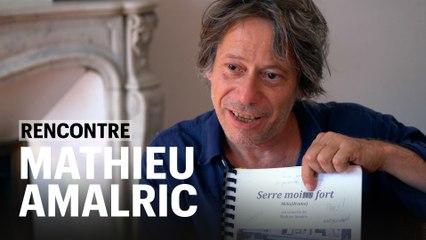 "Mathieu Amalric, ""Serre moi fort"", le mélodrame d'un virtuose"