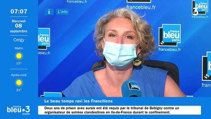 08/09/2021 - Le 6/9 de France Bleu Paris en vidéo