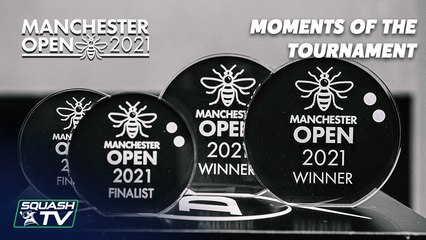 Squash: Manchester Open 2021 - Moments of the Tournament